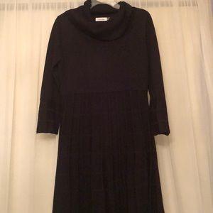 Calvin Klein Black sweater dress size M